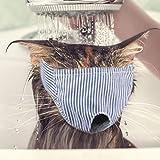 Bloomma Masque Facial d'animal familier, Masques d'oeil de Chat de Couverture de Visage de Lavage avec Le Sens de la sécurité Protection médicale Confortable