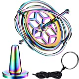 Norme Gyroscope Metal Anti-Gravity Spinning Top Gyroscope Balance Toy Educational Gift Colorful