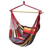 STARKWALL Outdoor Indoor Hängemck Chair Mit 2 Pillows Cradle Chair Komfort-händlerstuhl Dormitory Swinging Hanging Chair