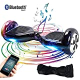 Windgoo Hover Board 6.5 Pouces,Smart Scooter Gyropode Auto-équilibrage 2 * 350W Self Balance Board avec LED Scooter électrique Skateboard pour Enfants et Adultes