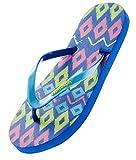AquaWave Flip-Flops Chanclas Damas - Ligero y Cómodo - Para Playa, Mar, Piscina, Ocio - Modella, Azul Real, 38