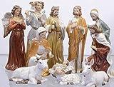 Decorazione lanterne personaggi Set di 11 in porcellana altezza fino a 16 cm
