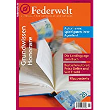 Federwelt 118, 03-2016: Zeitschrift für Autorinnen und Autoren