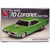 AMT Ertl #6140 Pro Street '70 Coronet Super Bee 1:25 Plastic Model Kit by AMT Ertl