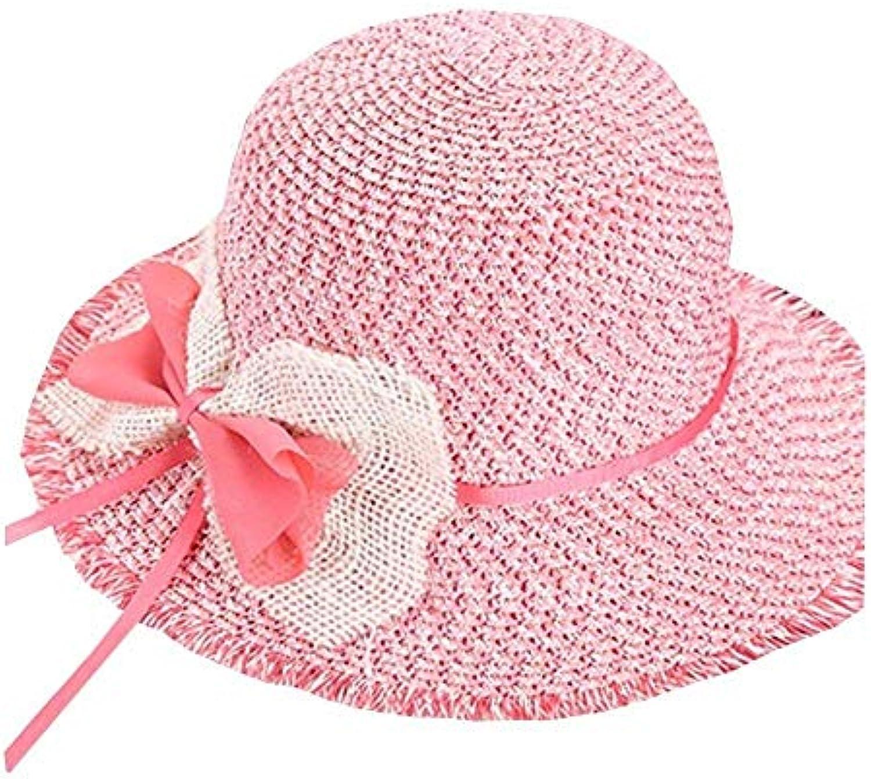 Yingsssq Cappello da Sole Estivo da Donna con Visiera Pieghevole Ampia e  Pieghevole Visiera (Coloreee c253d5d100ae