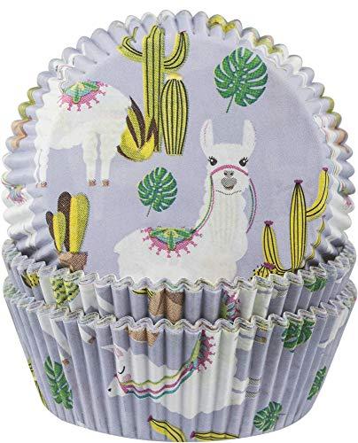60 Muffinförmchen * Lama * für Party, Geburtstag und Mottoparty | Muffin Muffins Papier Cupcake Backformen Anden Südamerika Alpaca