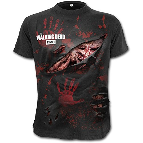 Artículo friki oficial con licencia disponible en EMP       The Walking Dead ZombieAll Infected Camiseta disponible en tallas S, M, L, XL, XXL, 3XL, 4XL.           Detalles:           Couleur: Negro     Patrón: Liso     Material Principal: 10...