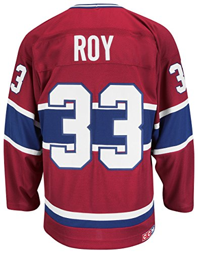 Patrick Roy Montreal Canadiens CCM Premier Throwback Jersey Trikot - Red