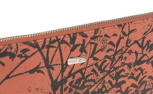 Parfois - Clutch - Sac À Main Bandoulière Papaya Print - Femmes Orange Imprime