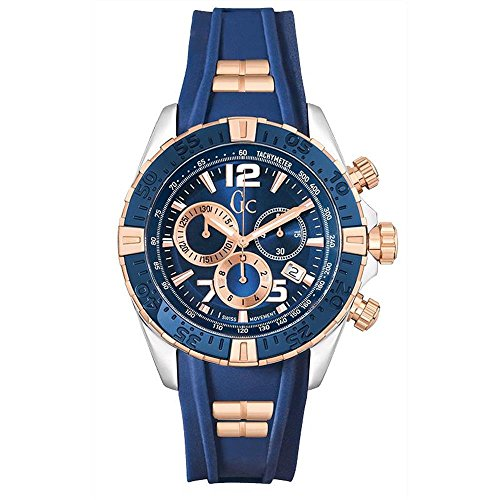 Guess–GC by Montre Homme Sport chic collection sport racer Chronographe y02009g7