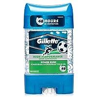 Gillette PowerBeads Power Rush Antiperspirant, 75ml