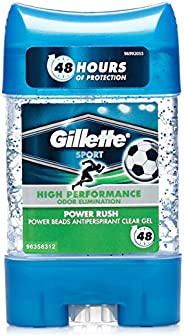 Gillette PowerBeads Power Rush Antiperspirant, 75ml