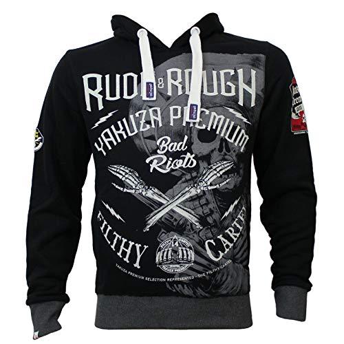 Yakuza Premium Herren Sweatshirt YPH 2621 schwarz