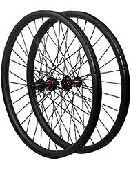 FidgetGear 29er - Ruedas de Carbono para Bicicleta de montaña (33 mm de Ancho,