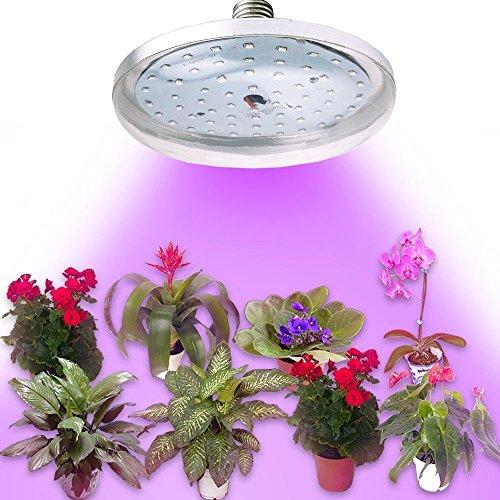 Bonlux E27 8W LED Pflanzenlampe 45 Rot und 15 Blau LED SMDs Wachstumslampe für Wasserpflanzen, Saatgut, Blumen, Topf- und Zimmerpflanzen, Gemüse