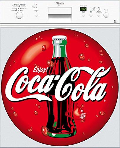 Preisvergleich Produktbild Stickersnews-Aufkleber Coca Cola spülmaschinenfest, Größe 60 x 60 cm
