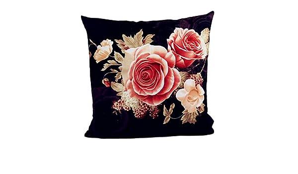 Housses De Coussin Deelin Dernière Mode Rétro Style Rose