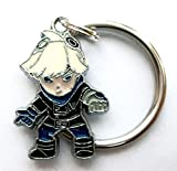 HALDER Ezreal - Schlüsselanhänger - 2cm - Figur Cosyplay lol anime chibi manga keychain adc fanartikel