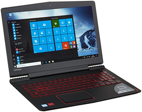 Lenovo Legion Y520 39,6 cm (15,6 Zoll Full HD IPS Anti-Glare) Gaming Notebook (Intel Core i5-7300HQ Quad-Core, 8 GB RAM, 256 GB SSD, AMD Radeon RX560 4 GB, Windows 10) schwarz