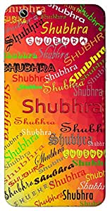 Shubhra (Popular Girl Name) Name & Sign Printed All over customize & Personalized!! Protective back cover for your Smart Phone : Apple iPhone 4/4S