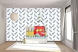 WandbilderXXL® Vlies Fototapete Blaue Pferde 300x200cm - hochwertige Tapete in 6 verschiedenen Größen für Wohnzimmer oder Büro - Foto Tapete - Qualität von Wandbilder XXL