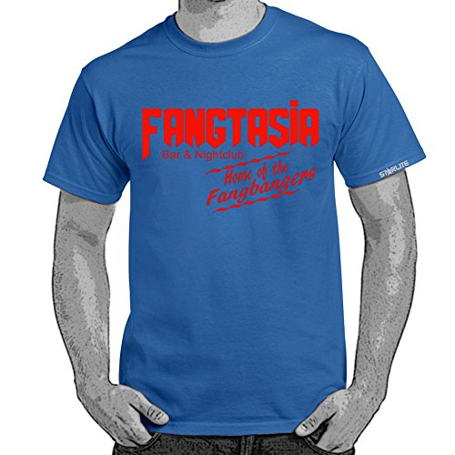 Herren Lustige Sprüche coole fun T Shirts-Fangtasia-True Blood Style tshirt-ROY-RED-2XL (Tee Red Jugend-true)