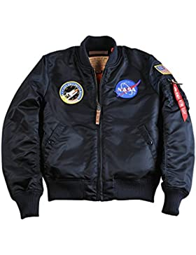 Chaqueta Alpha Industries MA-1 VF NASA azul