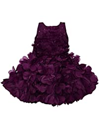 Wish Karo Baby Girls Frock Birthday Dress for Girls - Tissue - (bxa165)