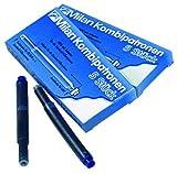 Tintenpatrone Milan Kombi blau 5 Stück Liefermenge = 48