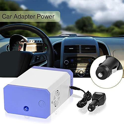 HUKOER Sauerstoffkonzentrator 3 L/min Tragbare Sauerstoffmaschine Luftreiniger für Reisen zu Hause und im Auto (mit Batterie)