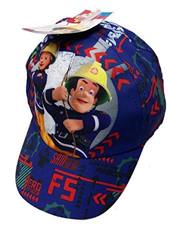 Official Licensed Fireman Sam Blue Childrens Hat Cap - Licensed Fireman Sam Merchandise