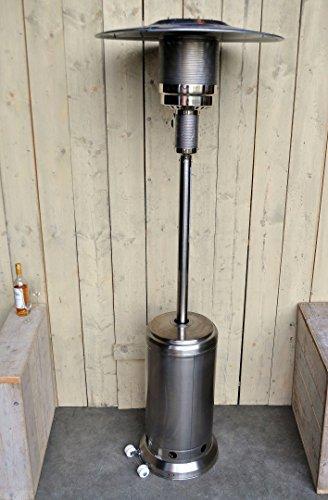 OutTrade Gas Heizung, edelstahl, Silber, 221 cm - 3