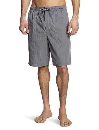 Schiesser - Pantalon de Pyjama - Homme - Noir (001-Blauschwarz) - FR : 50 (Taille fabricant : S)