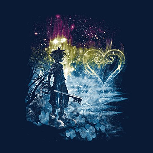 Kingdom Hearts A Path To The Heart Men's Vest Navy Blue