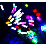 VRCT® Set Of 2 LED Waterproof String Light With Extra Long Led Bulb Tower, 10M Fairy Lights For Diwali , Indoor, Outdoor, Yard, Garden, Path, Chrismas, Landscape, Wedding, Party, Holiday Decoration (Multi-color)