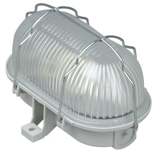 Kopp Oval-Leuchte 60 Watt Grau