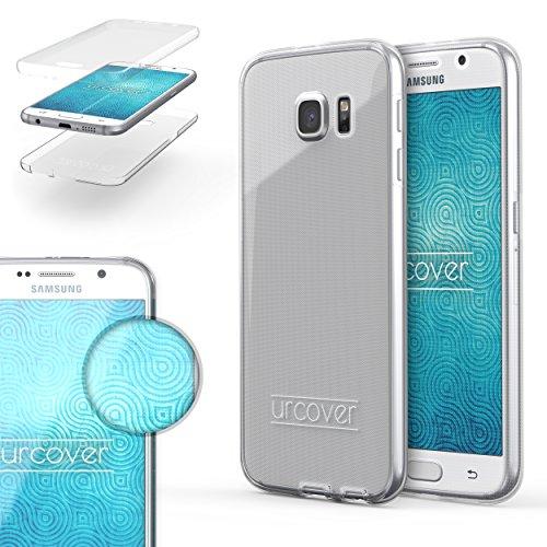 Samsung Galaxy S6 Edge Handyhülle von Original Urcover® in der TPU Ultra Slim 360 Grad Edition Galaxy S6 Edge Schutzhülle Case Cover Etui Klar [DEUTSCHER FACHHANDEL]