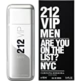 CAROLINA HERRERA 212 VIP Men EDT, 1er Pack (1 x 100 ml)