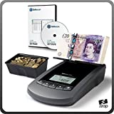The Safescan 6155 - Coin and Banknote Counter - With FREE SOFTWARE - Perfect for counting tills and checking coin bags while recording everything on a PC and more!