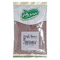 Purna Ragi Seeds - 200 gm Brown