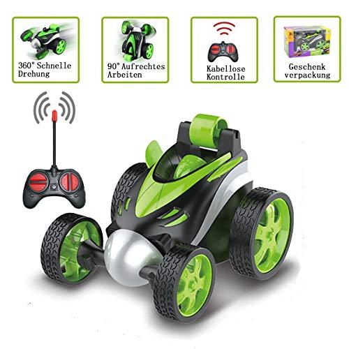 Aoweika Ferngesteuertes Auto, 2.4GHz RC Stunt Auto Rennauto, High Speed Spielzeugauto, Radio Ferngesteuerter Buggy Auto, Auto Spielzeug Rennfahrzeug für Kinder Jungen Mädchen