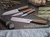 Producto de cocina de Tokio PEARL Edition 4 teiliges cocina-juego de cuchillos, acero inoxidable