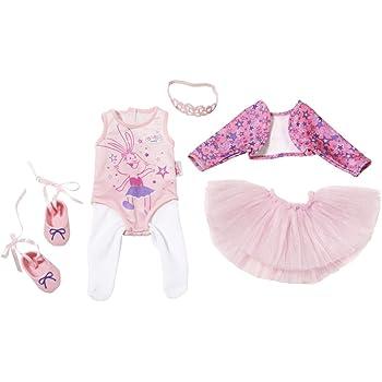 00e02450aca25 Baby Born 825013 Boutique Deluxe Ballerina Set Pink Dancing Outfit ...