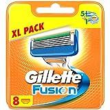 Gillette Fusion Rasierklingen, 8Stück, briefkastenfähige Verpackung