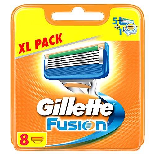 Gillette Fusion Rasierklingen Für Männer 8Stück - Briefkastenfähige Verpackung