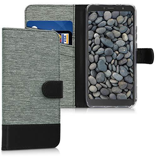 kwmobile Xiaomi Redmi S2 / Redmi Y2 Hülle - Kunstleder Wallet Case für Xiaomi Redmi S2 / Redmi Y2 mit Kartenfächern & Stand