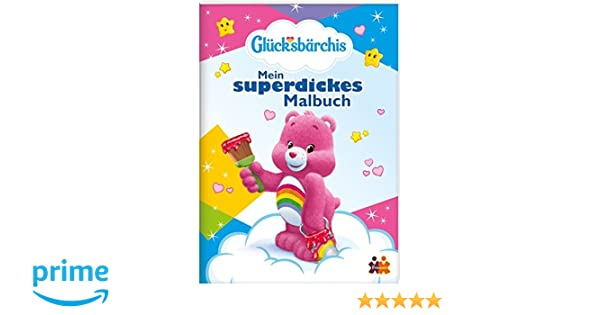 Glücksbärchis. Mein superdickes Malbuch: Amazon.de: Friendz @ Kids ...