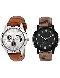Codice Wrist Watch Analog Watches For Men & Boys Watch Combo Watch 2 Mens Watches-ArmyAvo