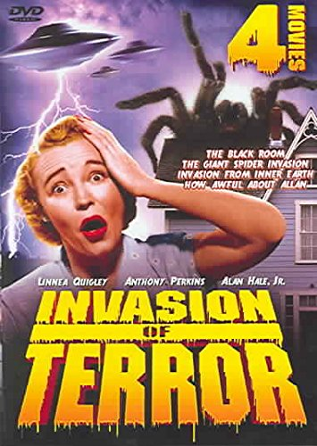 INVASION OF TERROR: The Black Room / Giant Spider Invasion / Invasion from Inner Space / How Awful About Allan - Giant Spider