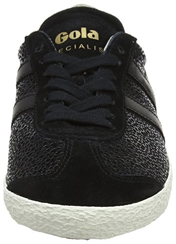 Gola Specialist Crackle, Sneaker Donna Nero (Black)